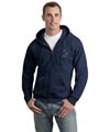 Adult Full Zip Sweatshirts - Navy